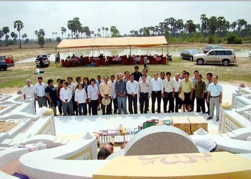 柬埔寨西河林氏宗亲总会-清明节公祭先侨
