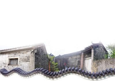 文昌十八行村邻里和睦 数百年古宅九牧堂