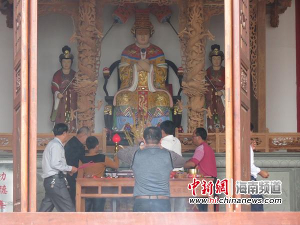 海南比干妈祖文化园今年正式对外开放
