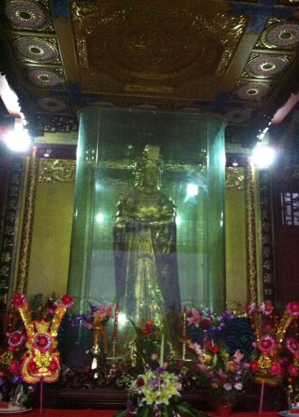 全球最大最重妈祖金身像将于4月11日举行开光仪式